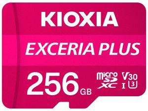 KIOXIA - MICRO SD 128GB EXCERIA PLUS UHS-I C10 R98 COM ADAPTADOR