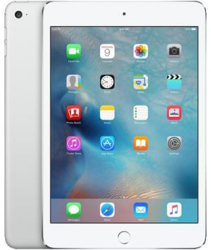 APPLE - iPad mini 4 Wi-Fi Cell 128GB Silver