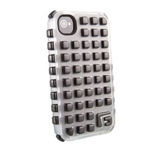 G-FORM - iPhone Square - Ice Shell / Black RPT - CP2IP4005E