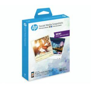 HP - Social Media Snapshots, 25 sheets, 10x13cm