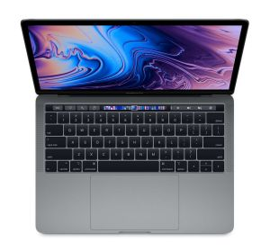 APPLE - MacBook Pro 13P com Touch Bar: Processador IntelCorei5 8ª geração 2.4GHz 4-core: 512GB - Space Grey