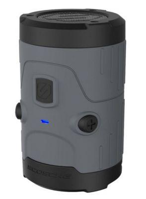 SCOSCHE - boomBOTTLE H2O RUG WATERPR WIRELESS SPEAKER(GRAY)