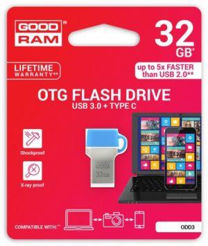 GOODRAM - 32GB DUAL DRIVE TYP C USB 3.0