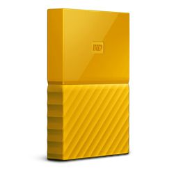 WESTERN DIGITAL - MY PASSPORT  4TB Yellow USB 3.0