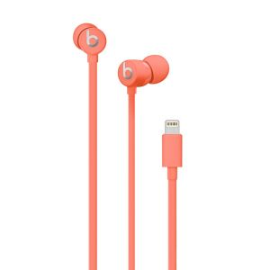 APPLE - Beats urBeats3 Earphones with Lightning Connector – Coral