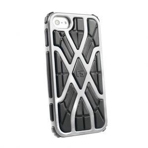 G-FORM - iPhone 5 silver / black RPT