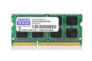 GOODRAM - 4GB 1333MHz CL9 SR SODimm
