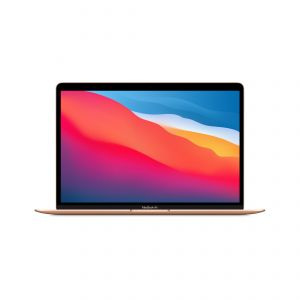 APPLE - MacBookAir 13P / 8GB / 256GB / Apple M1 CPU 8-Core e GPU 7-Core / Dourado