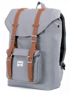 HERSCHEL - LITTLE AMERICA MID-VOLUME Backpack GREY