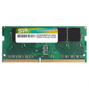 SILICON POWER - 8GB (1Gx8 SR) 2133- 260PIN (CL17) 1.2V SODIMM - SP008GBSFU213B02