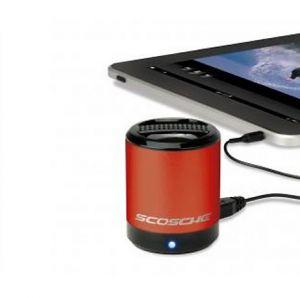 SCOSCHE - boomCAN portable speaker (red)