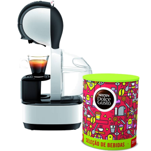 KRUPS - MAQUINA CAFE DOLCE GUSTO LUMIO BRANCA PACK - KP1301P5