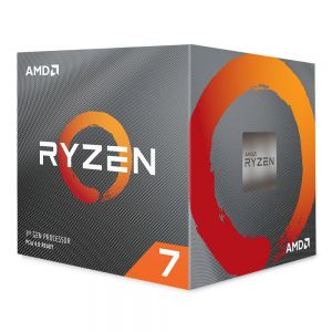 AMD - AM4 Ryzen 7 3700X 3:6 GHz MAX Boost 4:4GHz 8xCore 32MB 65W com Wraith Prism cooler 7nm