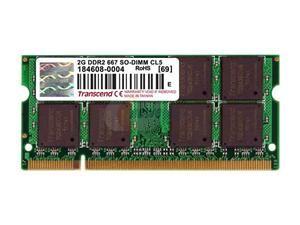 TRANSCEND - SO 2GB DDR2 667