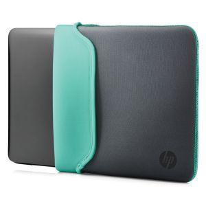 HP - 15.6 Grey/Grn Chroma Sleeve