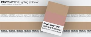 PANTONE - LIGHTING INDICATOR D50 STICKERS - 41091