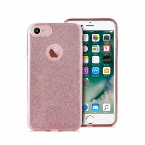 PURO - PC+TPU Shine Cover for iPhone 7 Rose Gold