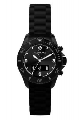 MYKRONOZ - relógio ZECLOCK Preto - KRZECLOCK-BLACK