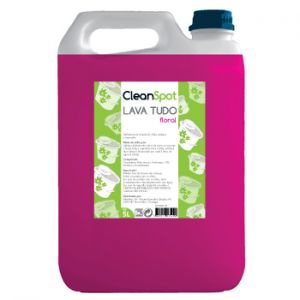 CLEANSPOT - Detergente Lava Tudo Floral (5 Litros)