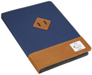 E-VITTA - HERITAGE TABLET CASE 10 1 BLUE