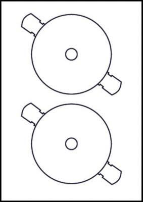 AVERY - CDS/DVDS J8676 (INKJET STANDARD)