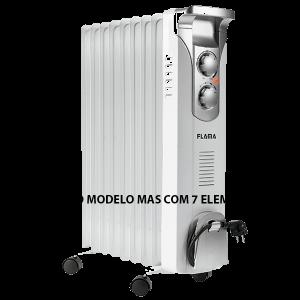 FLAMA - RADIADOR OLEO 1500W 7 ELEMENTOS 3 NIVEIS AQUECIMENTO - 2357FL