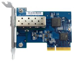 QNAP - LAN-10G1SR - Adaptador de rede - PCIe 2.0 x4 - 10 Gigabit SFP+ x 1