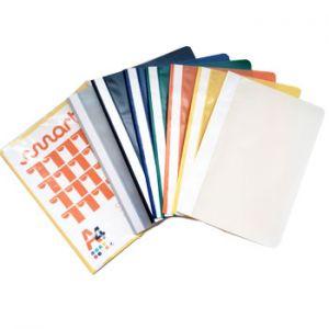 SMARTD - Classificador Plastico PVC Capa Transparente amarelo 1 un (min. 25 un.)