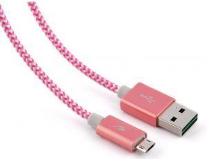 BLUESTORK - TRENDY-MU-W 1.2M USB A MICRO-USB A ROSA Cabo USB