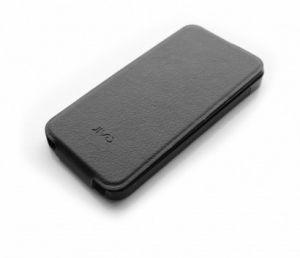 JIVO - iPhone 5 PU Flip Case Two-piece slide-on iPhone case Bk
