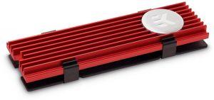 EKWB - Cooler Discos EK-M.2 NVMe Vermelho