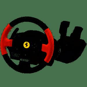 ThrustMaster - T150 Ferrari Edition - Conjunto volante e pedais com cabo - para PC, Sony PlayStation 3, Sony PlayStation 4