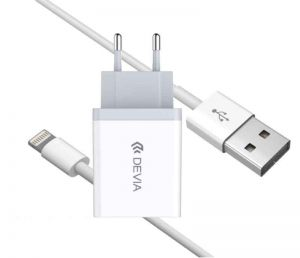 DEVIA - Smart Charger Suite Pack Lightning (White)