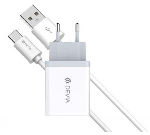DEVIA - Smart Charger Suite Pack Type-C (White)