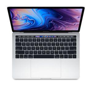 APPLE - MacBook Pro 13P com Touch Bar: Processador IntelCorei5 8ª geração 2.4GHz 4-core: 256GB - Silver