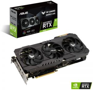 ASUS - Placa Gráfica GeForce RTX 3090 TUF Gaming OC 24GD6X