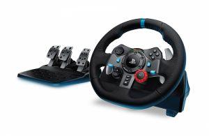 LOGITECH - Volante G29 Driving Force (PS5, PS4, PS3, Windows)