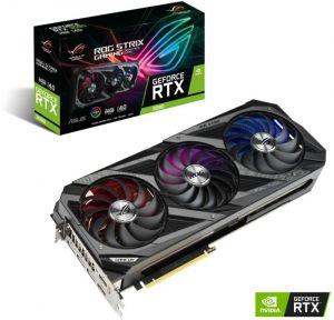 ASUS - Placa Gráfica GeForce RTX 3090 ROG Strix OC 24GD6X
