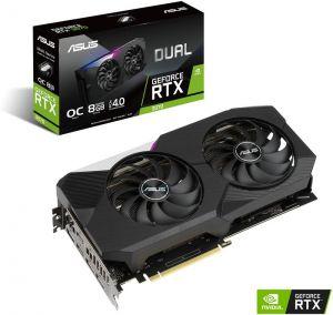 ASUS - Placa Gráfica GeForce RTX 3070 Dual OC 8GB GD6