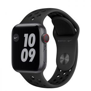 APPLE - Watch Nike SE GPS + Cellular 40mm Cinzento Sideral com Bracelete Desportiva Nike Antracite/Preto