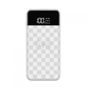 DEVIA - Ju Series Wireless Powerbank - White