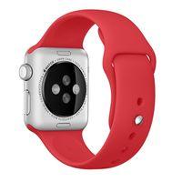 Apple MLD82ZM/A Banda Vermelho Fluoroelastómero acessório de relógio inteligente