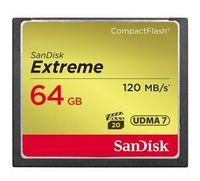 SANDISK - Extreme CF 120MB / s 85MB / s UDMA7 64GB