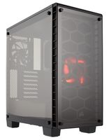 CORSAIR - Crystal Series 460X Tempered Glass Compact ATX Mid Tower
