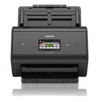 BROTHER - ADS-2800W - Scanner departamental com rede cablada e WiFi, USB 2.0, A4 com uma velocidade de 30ppm (60ipm), alimentador automático de documentos até 50 folhas, visor tátil a cores de 9,3 cm com acessos diretos para digitalização