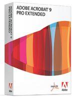 Adobe Acrobat Professional Pro Extended 9.0, DVD, Win, EN