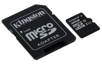 Kingston Technology microSDHC Class 10 UHS-I Card 32GB 32GB MicroSDHC UHS-I Class 10 cartão de memória