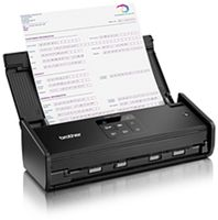 BROTHER - SCANNER PORTATIL A4 CORES WIFI - ADS-1100W