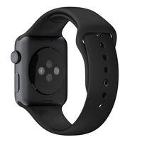 Apple MJ4N2ZM/A Banda Preto Fluoroelastómero acessório de relógio inteligente