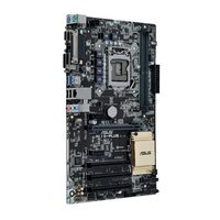 ASUS - H110-PLUS - Intel H110 LGA1151 2DDR4(Dual channel) 21333 Mhz 32G Max ATX